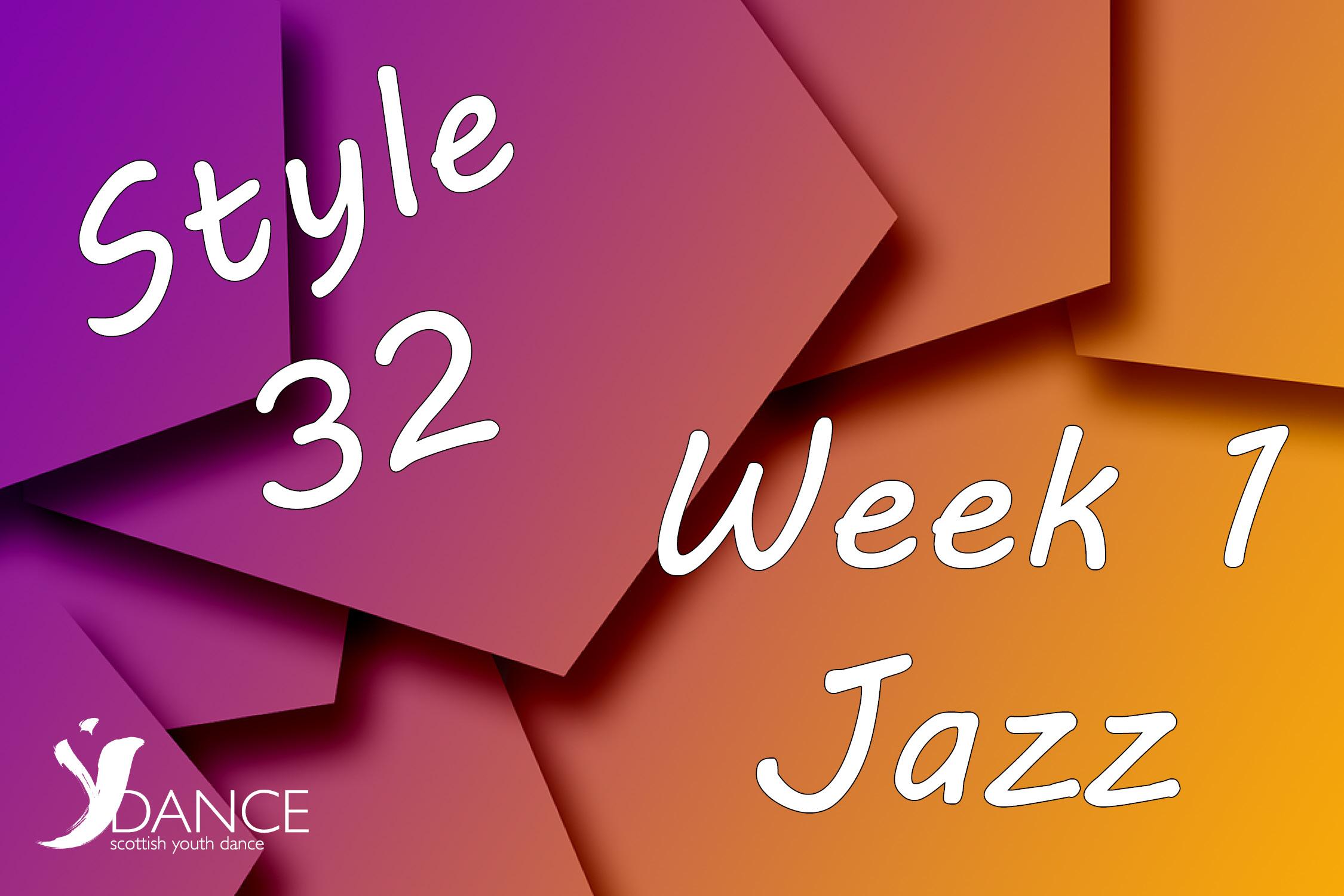 Style32 - Wk1 - Jazz